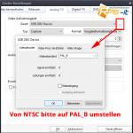 Im Potplayer von NTSC auf PAL unmstellen