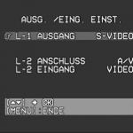 Der Ausgang L-1 gibt jetzt S-Video aus.