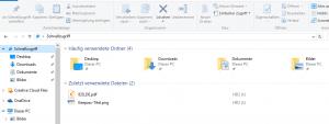 Die Windows 10 Schnellansicht