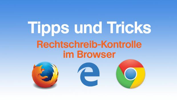 Rechtschreibprüfung im Browser