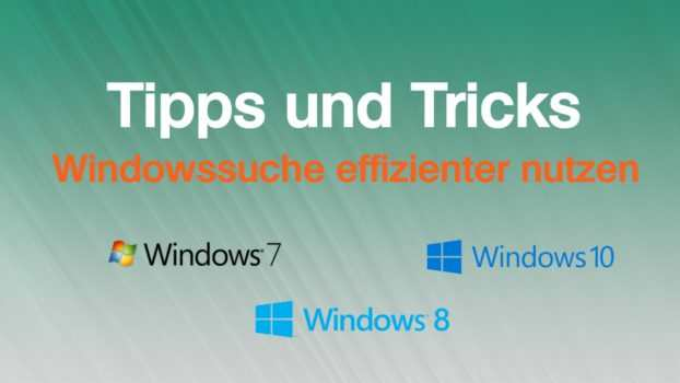 So suchen Sie in Windows effizienter