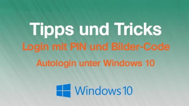 Windows 10: So richtet man ein Login ohne Passwort ein