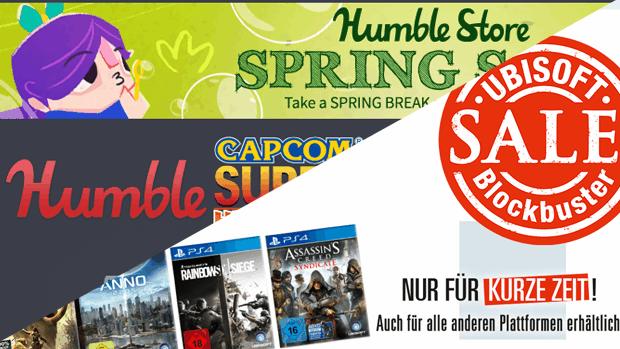 Fette Rabatte bei Ubisoft und im Humblebundle