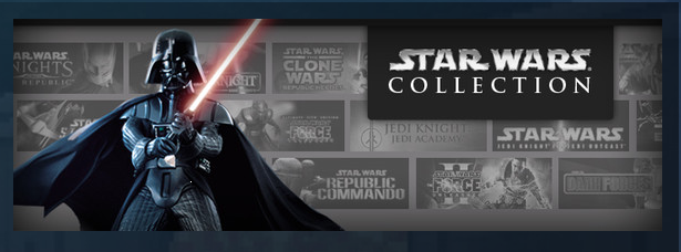 Star Wars Spiele billig bei Steam