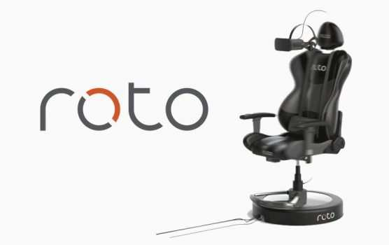 Roto-VR ein motorisierter Drehstuhl für die Virtuelle Realität