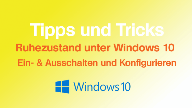 Ruhezustand unter Windows 10