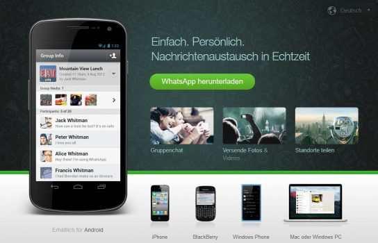 Desktop App für WhatsApp