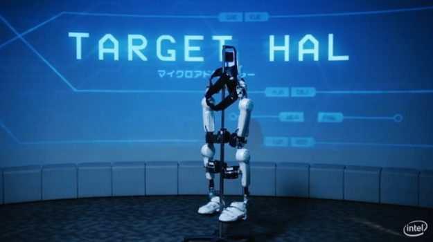 Intel und Cyberdyne zeigen Exoskelett