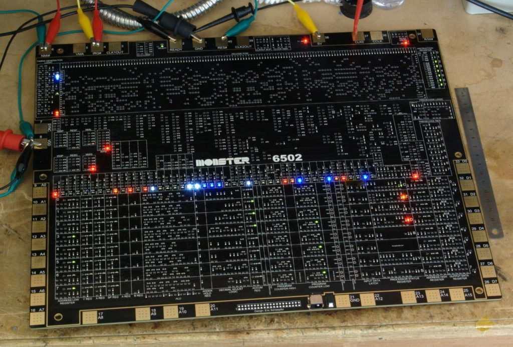 Assembled MOS6502