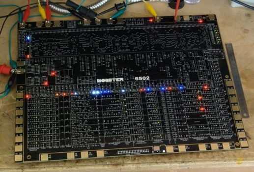 Früher Prozessor diskret in SMD nachgebaut