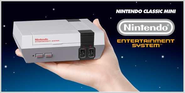 Nintendo bringt Mini-Konsole für Retro-Gamer