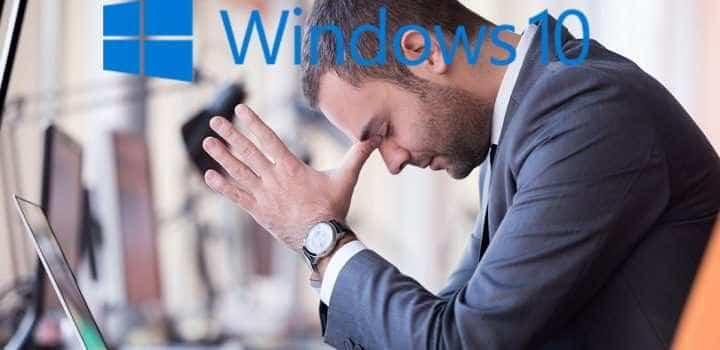 Fehler mit dem Anniversary Update von Windows 10