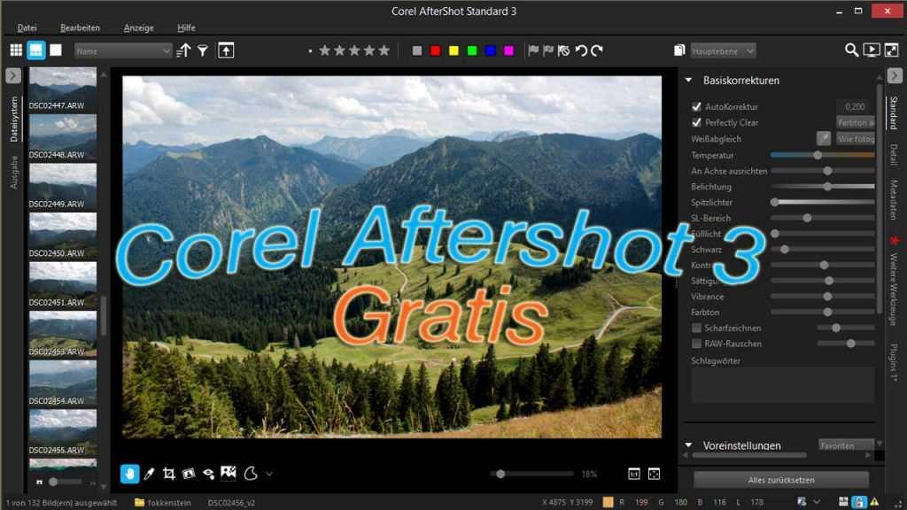 Corel Aftershot 3 gratis