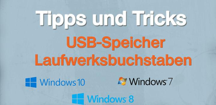 USB-Speicher erhält keinen Laufwerks-Buchstaben
