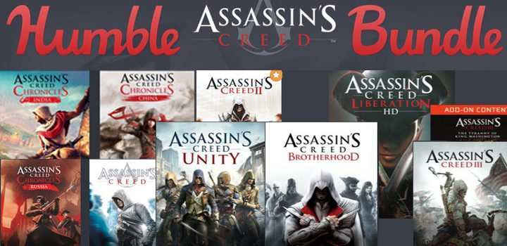 Tolles Assassin's Creed Bundle