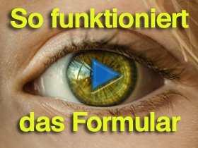 Video-Anleitung zum Ausfüllen des Formulars