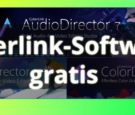 Gratis-Software für Video und Audio von Cyberlink
